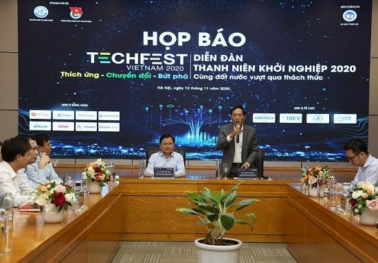12 làng công nghệ tham gia Ngày hội khởi nghiệp sáng tạo quốc gia năm 2020