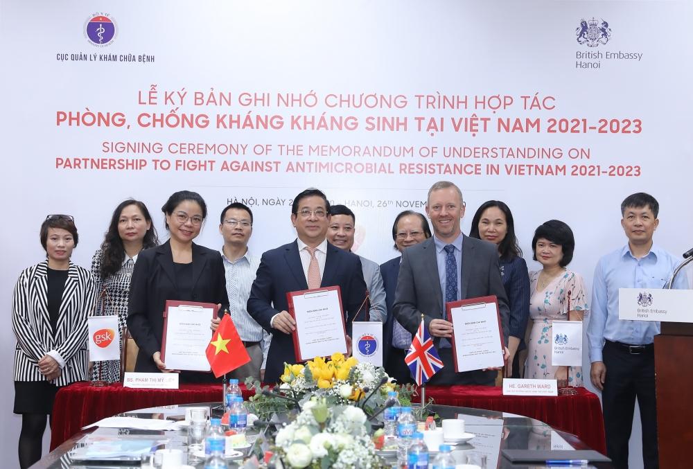 Hợp tác phòng, chống kháng kháng sinh tại Việt Nam giai đoạn 2021-2023