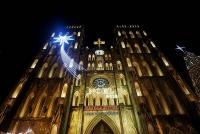 Nhà thờ Lớn Hà Nội lung linh trước đêm Noel