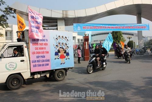 Hà Nội phát động Tháng hành động quốc gia về dân số năm 2019