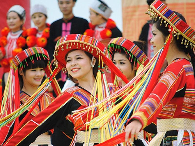 16 cộng đồng dân tộc tham gia Ngày hội Xuân 2017 ở Hà Nội
