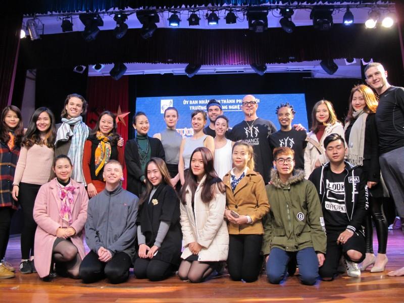"""""""DanceMotion USA"""" khởi động tại Hà Nội"""