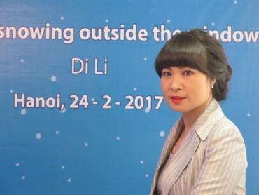 Nhà văn Di Li ra mắt cuốn du ký thứ 3