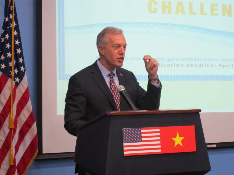 """Đại sứ quán Hoa Kỳ khởi động """"Cuộc thi Ý tưởng Khởi nghiệp của Đại sứ 2017"""""""