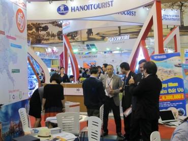 Sôi động Hội chợ du lịch quốc tế Việt Nam
