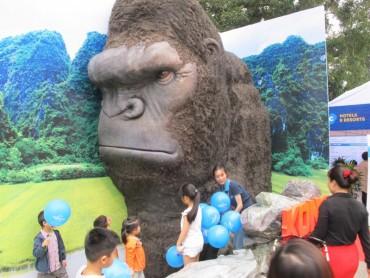 Ninh Bình được tặng mô hình Kong 3D để quảng bá du lịch