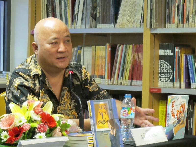 """""""Yêu"""" như dịch giả Lê Quang"""