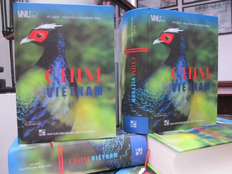"""""""Chim Việt Nam"""" - một công trình khoa học đồ sộ"""
