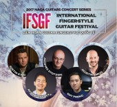 Vietnam IFSGF 2017 quy tụ nhiều nghệ sĩ guitar nổi tiếng
