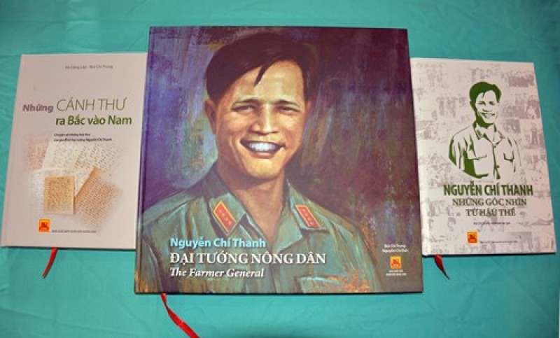 """Ra mắt bộ sách """"Đại tướng Nguyễn Chí Thanh"""""""