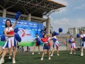 Sôi động Giải bóng đá hữu nghị Việt Nam - Pháp 2017 tại Hà Nội
