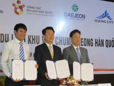 Đẩy mạnh hợp tác du lịch giữa Việt Nam và Khu vực Chungcheong (Hàn Quốc)