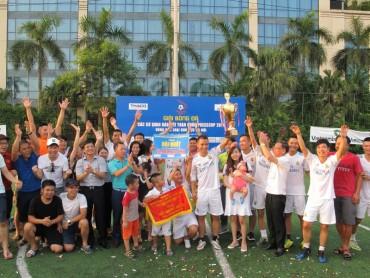 """VTV đoạt cúp """"Press Cup 2017"""" khu vực Hà Nội"""