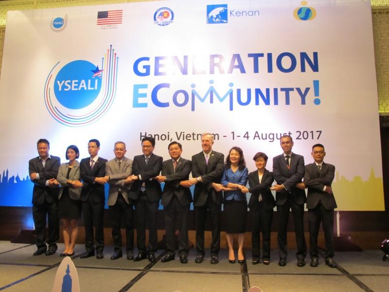 """Hội thảo """"Sáng kiến thủ lĩnh trẻ Đông Nam Á ECommunity!"""" tại Hà Nội"""