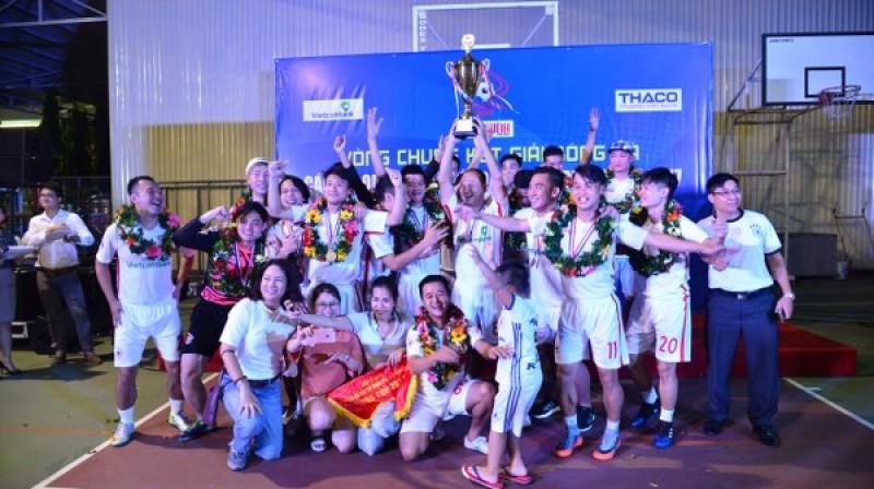 Đội VTV vô địch Press Cup 2017