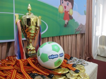 Lộ diện 8 đội lọt tứ kết Giải Bóng đá Nhi đồng toàn quốc 2017