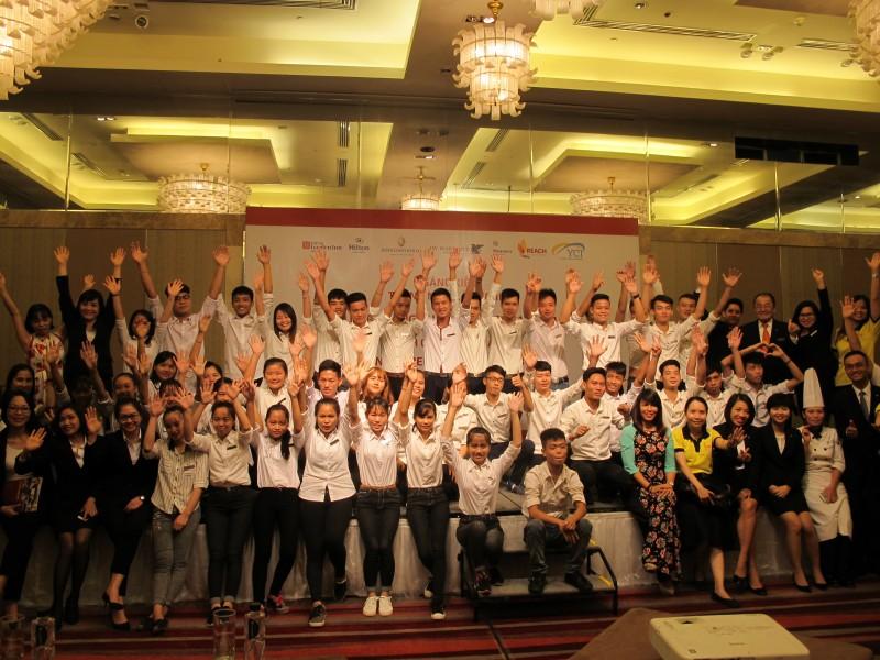 Thêm 67 thanh niên hoàn cảnh khó khăn được đào tạo nghề từ YCI