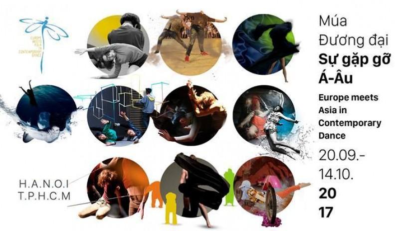 """Liên hoan """"Múa đương đại: Sự gặp gỡ Á - Âu"""" 2017 mở rộng nhiều hoạt động"""