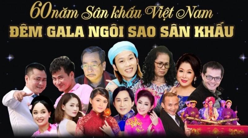 Gala kỷ niệm 60 năm Ngày Sân khấu Việt Nam