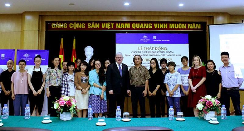 Thi thiết kế logo kỷ niệm 45 năm quan hệ ngoại giao Australia và Việt Nam