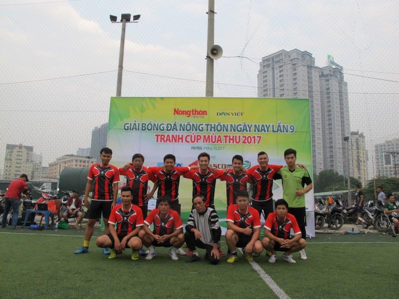 Khởi tranh Giải bóng đá Báo Nông thôn Ngày nay lần thứ 9 - 2017