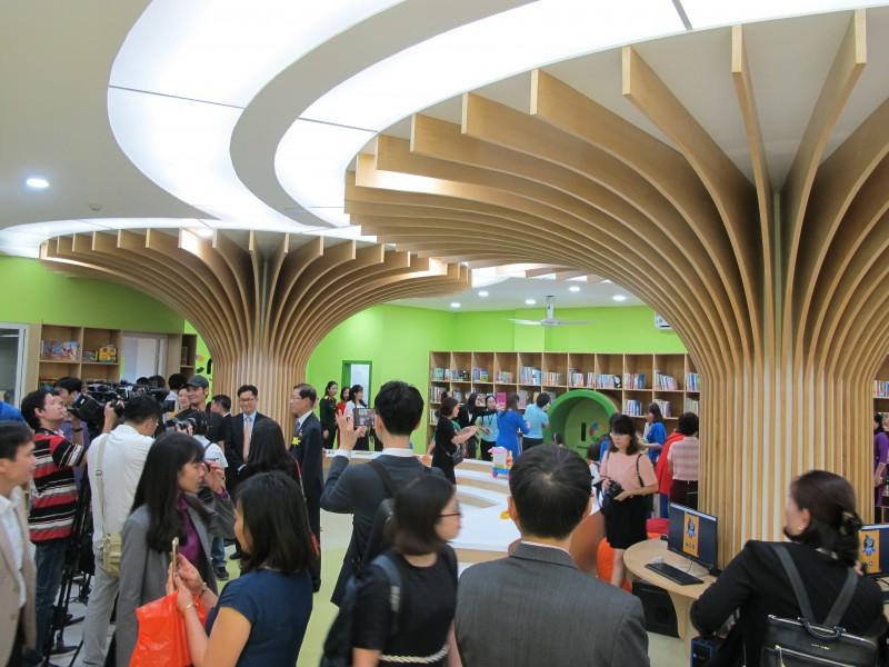 Khai trương Thư viện văn hóa thiếu nhi Việt Nam theo mô hình phức hợp mới