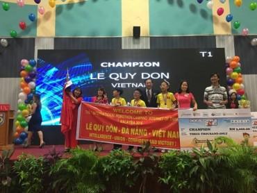 Học sinh Đà Nẵng vô địch Robothon quốc tế 2016