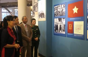 """Triển lãm """"Chủ tịch Hồ Chí Minh - Hành trình kháng chiến chống thực dân Pháp xâm lược (1946-1954)"""""""