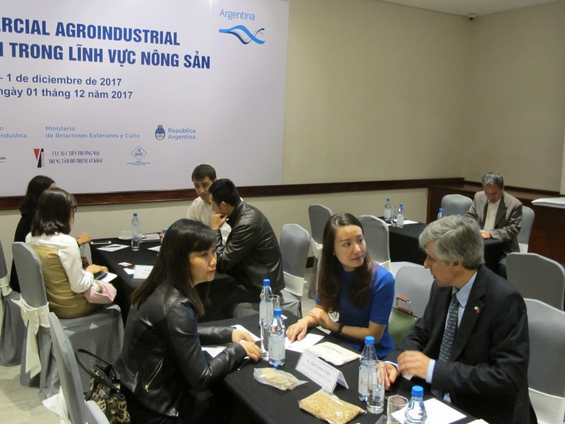 Thúc đẩy thương mại giữa Argentina và Việt Nam