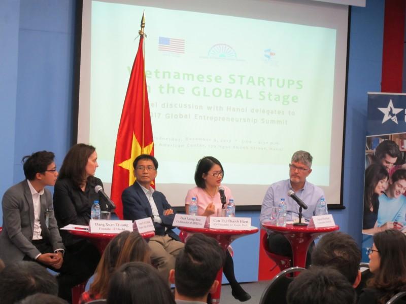Doanh nhân Hà Nội chia sẻ về GES 2017 và kết nối khởi nghiệp