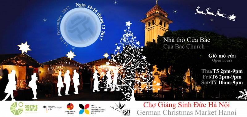 Chợ Giáng Sinh kiểu Đức lần đầu tiên tại Hà Nội