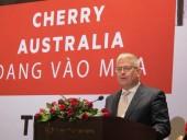 Cherry Australia được nhập khẩu chính thức vào Việt Nam