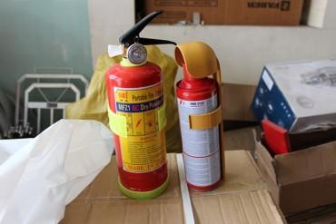 Bình chữa cháy trong ôtô: Để ở đâu và dùng loại nào?