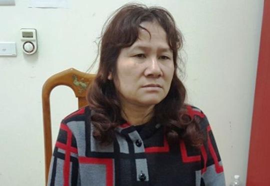 Kiều Thị Thanh tại cơ quan điều tra