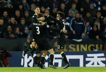 Vòng 21 Ngoại hạng Anh: Chelsea bứt phá trên đỉnh