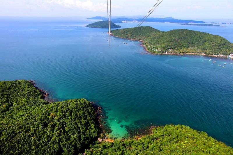 Trải nghiệm tầm nhìn 360 độ toàn cảnh Nam Phú Quốc
