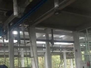 Sập giàn giáo công trình nhà ga cáp treo Yên Tử, 4 người bị thương
