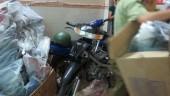 Tạm giữ hàng trăm sản phẩm phụ tùng xe gắn máy do nước ngoài sản xuất
