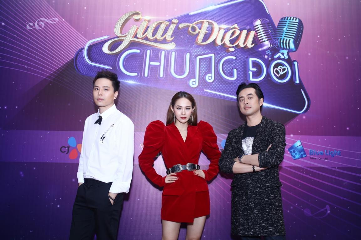 minh hang trinh thang binh lam giam khao gameshow hen ho