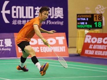 Phạm Cao Cường đánh bại tay vợt hạng 31 thế giới