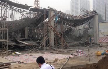 Hà Nội: 3 người tử vong vì sập giàn giáo ở một công trình xây dựng