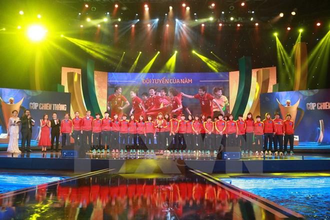 Tôn vinh những tài năng làm rạng danh thể thao Việt Nam