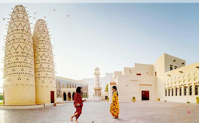Những địa điểm sống ảo đẹp lung linh ở Qatar