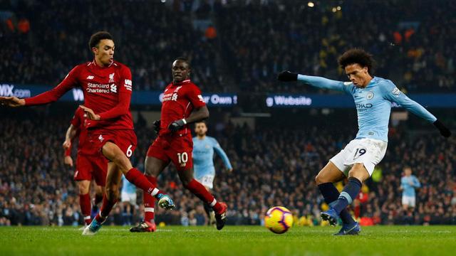 Man City 2-1 Liverpool: Thất bại đầu tiên