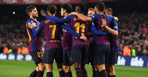 Barcelona 3–1 Leganes: Vững vàng trên đỉnh