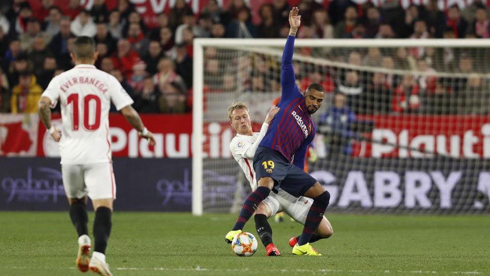 Sevilla 2- 0 Barcelona: Vắng Messi, Barca 'ngã ngựa' ở Sevilla