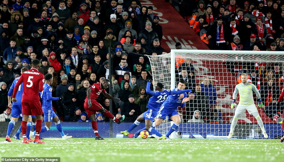 liverpool 1 1 leicester city the kop lo co hoi gia tang cach biet