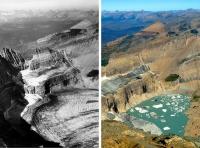 Hình ảnh so sánh cho thấy biến đổi khí hậu thay đổi Trái Đất như thế nào?
