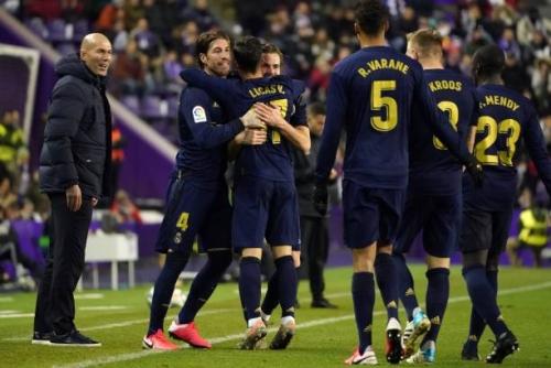 Valladolid 0-1 Real Madrid: Nacho đưa Real lên đỉnh