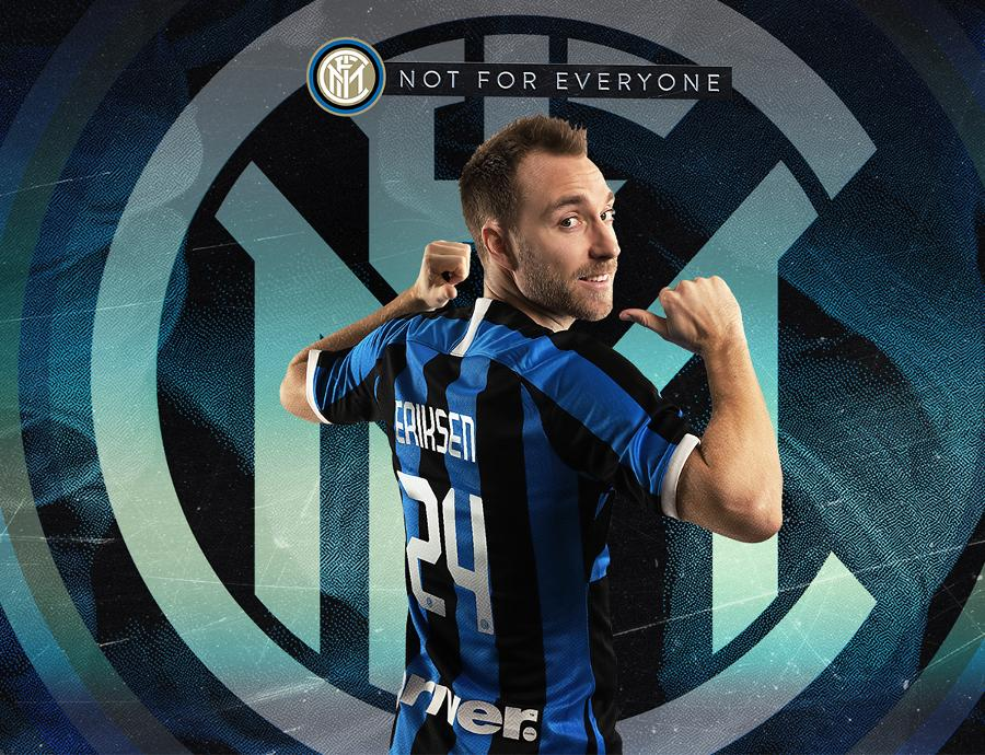 Christian Eriksen chính thức gia nhập Inter Milan